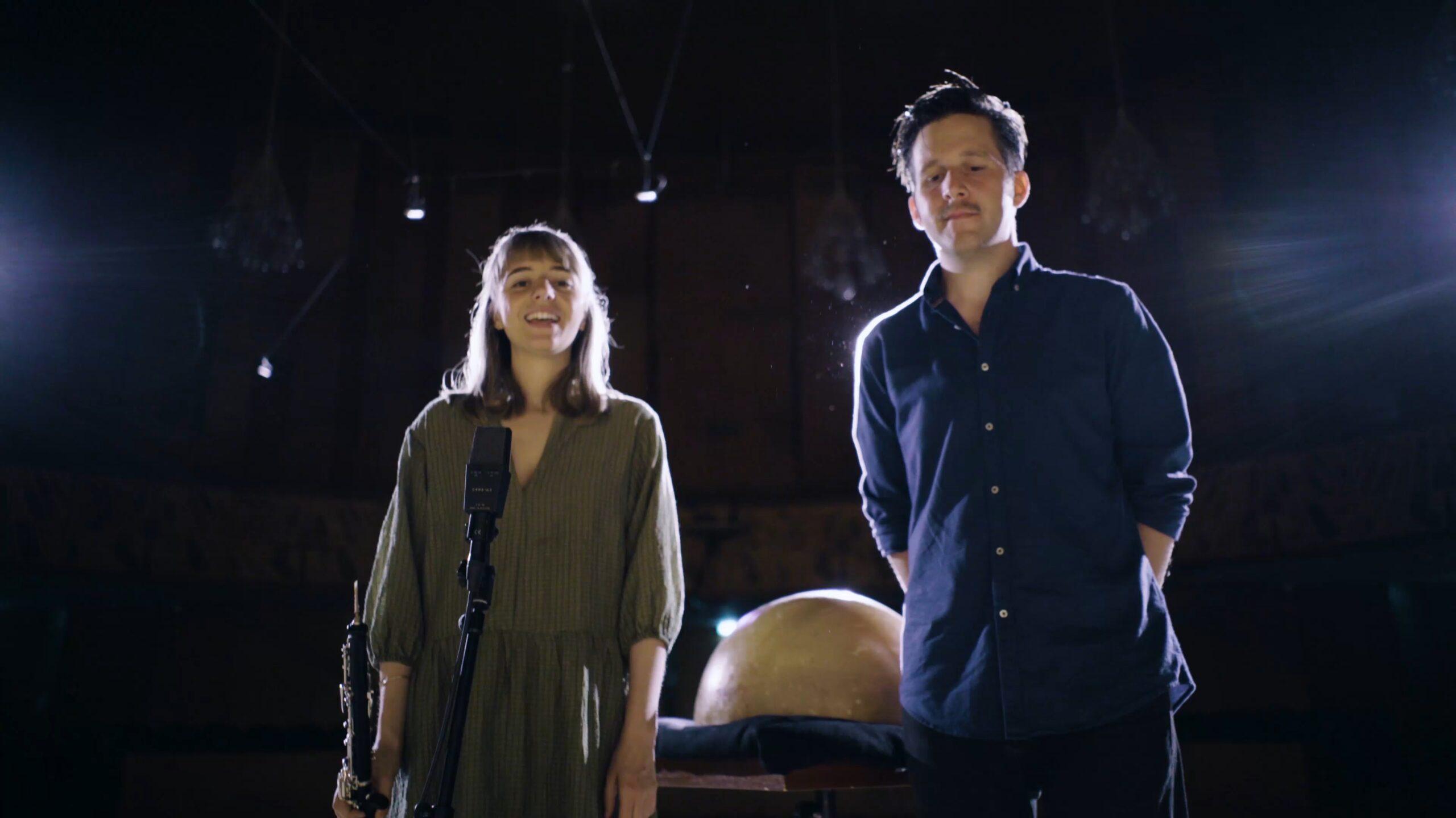 Miriam Green und Simon Popp - kein Orchester, aber zu zweit weniger allein!
